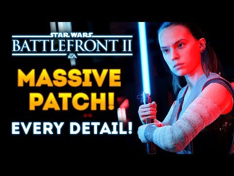 Star Wars Battlefront 2 - HUGE Patch Update! JetPack Cargo, Hero Changes & Skins, New Arcade Maps!