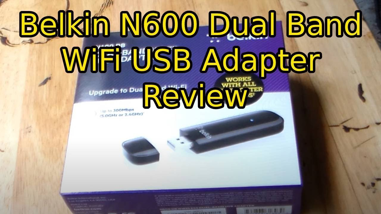 BELKIN N600 USB ADAPTER DOWNLOAD DRIVER
