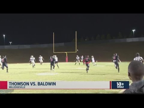 Thomson Vs. Baldwin 2019 Georgia High School Football Highlights (Week 9)