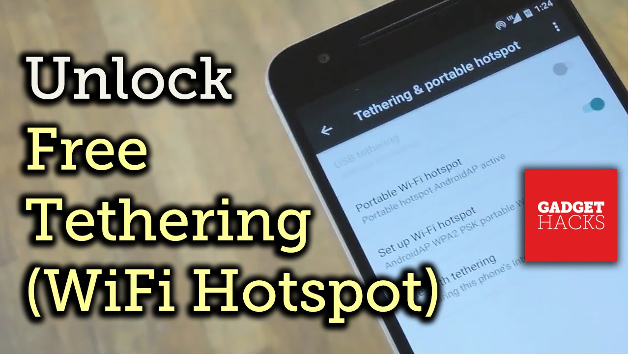 How to Enable Free WiFi Tethering on Android Marshmallow « Android