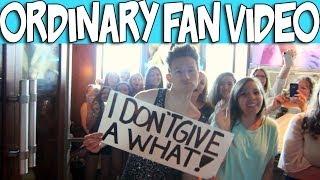 ordinary fan music video   ricky dillon