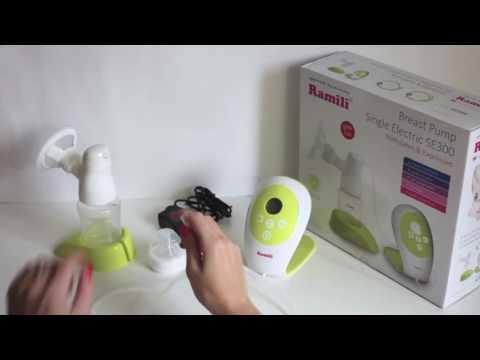 Ramili Elektrische Milchpumpe SE300 - ist die beste Milchpumpe?
