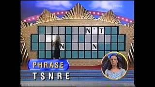 Wheel of Fortune April 2002 - 1st major prize