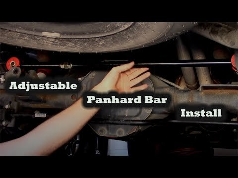 2016 Ram 1500 >> Adjustable panhard bar install- 2012 RAM 1500 - YouTube