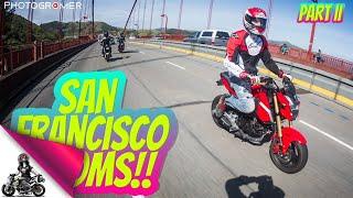 Exploring San Francisco on a Honda Grom: Part 2