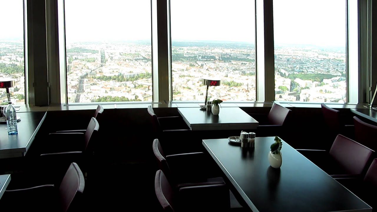 Revolving Restaurant Tv Tower Berlin Youtube