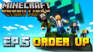 Minecraft: Story Mode – Episode 5: Part 1 [Order Up] Walkthrough/Gameplay [PS4 GAME]