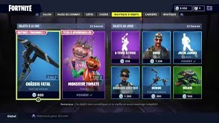"FORTNITE BOUTIQUE From October 3rd Back From Skin ""DESTINEd"""