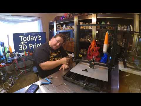 Today&39;s 3D Print 122 Creality CR-10 S4 Unbox Build First Prints