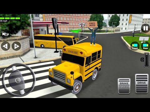 Super High School Bus Driving Simulator 3D 2019 Ep10 Android IOS Gameplay