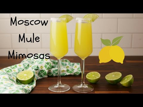 How To Make Moscow Mule Mimosas