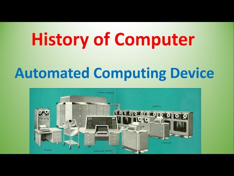 History of Computer || Automated computing device || charles babbage | Computer fundamental