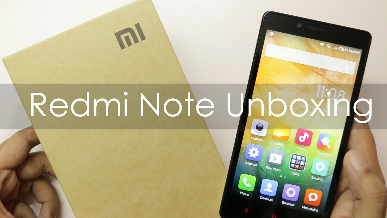 Redmi Note 4 Unboxing: Xiaomi Redmi Note Budget Phablet Unboxing & Hands On