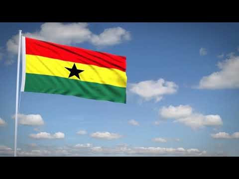 Studio3201 - Animated flag of Ghana