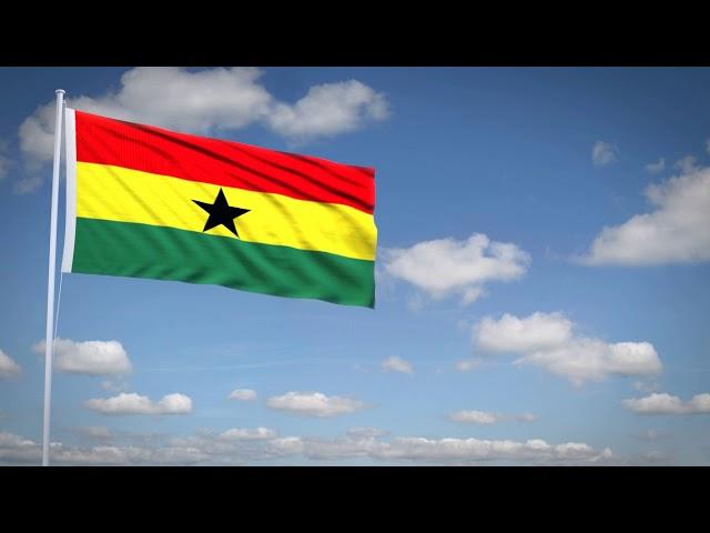 Studio3201 - Animated flag of Ghana