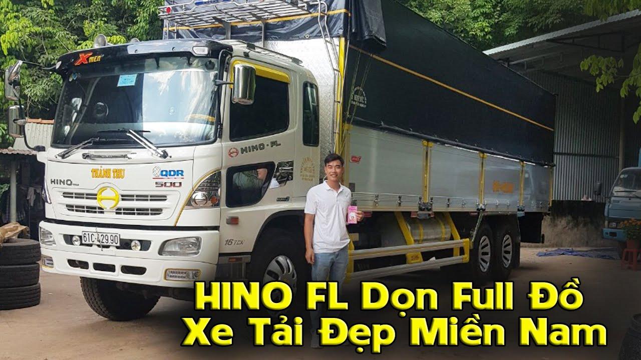 HINO 500 FL Dọn Đồ Cực Chất | Vận Tải Thành Thu HINO 3 Giò