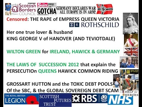 George W Bush Global Banking Crash Queen Victoria rapes scams CENSORED by You Tube