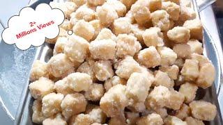Shakar Para Recipe in Hindi Shakarpara recipe  Sweet Shakarpare  Shankarpali Sugar Coated