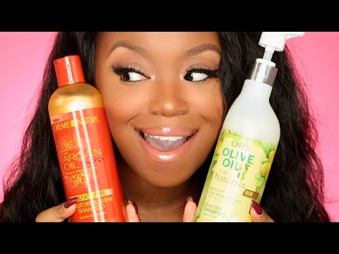 Favorite Shampoos For Hair Growth -  Natural & Relaxed Hair