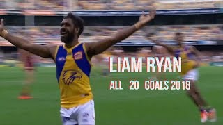 Liam Ryan all 20 Goals 2018