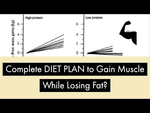 Complete DIET PLAN to Gain Muscle While Losing FAT?|| Part 3 - NUTRITION