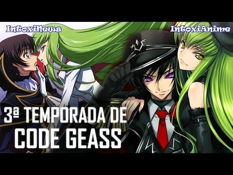 3ª TEMPORADA DE CODE GEASS ANUNCIADA e + | IntoxiNews