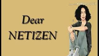 Dear NETIZEN - Taki - Taki ( SMVLL )