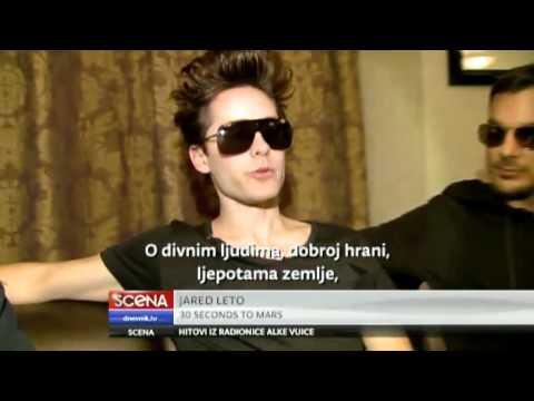 30 Seconds To Mars on Nova TV (Croatia)