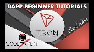 Tron (TRX) DApp Tutorial 7 - Understanding Front-End Template