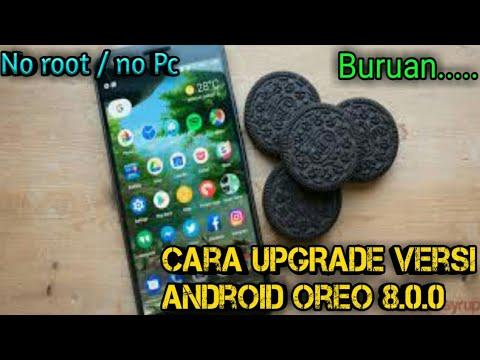 cara UPGRADE versi android OREO 8.0.0 untuk semua android (Tanpa root & Tanpa Pc)