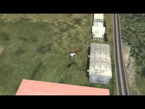 Krasnodar center station landing challenge