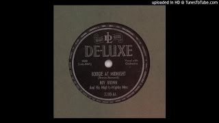 Brown, Roy & his Mighty Mighty Men - Boogie At Midnight - 1950 (78RPM)