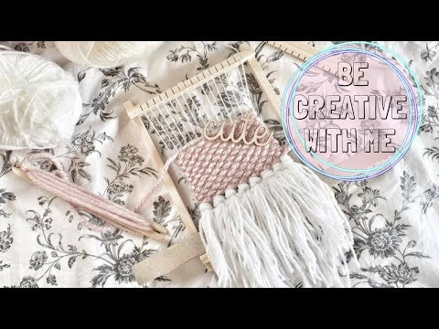Be Creative With Me ☆ Wall weaving maken