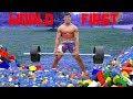 Powerlifting BAREFOOT on Legos *UNIMAGINABLE PAIN* | Bodybuilder VS Weightlifting World Record