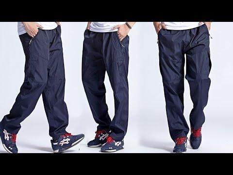 Хорошие спортивные мужские штаны Boterke из Китая. Aliexpress