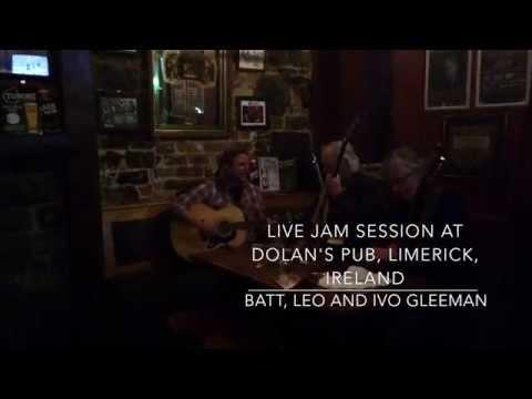 Ivo Gleeman, Live Jam Session @ Dolan's pub, Limerick, Ireland.