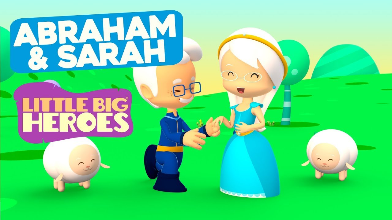 Abraham and Sarah - Bible Stories for Kids - Little Big Heroes