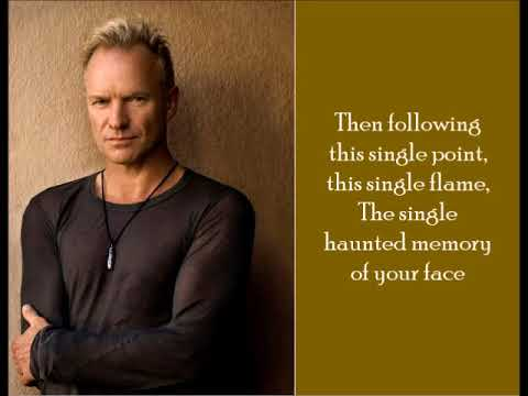 A Thousand Years - Sting - (Lyrics)