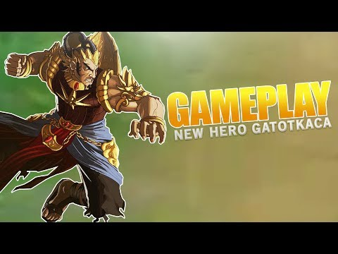 NEW HERO GATOT KACA GAMEPLAY (Mobile Legends)