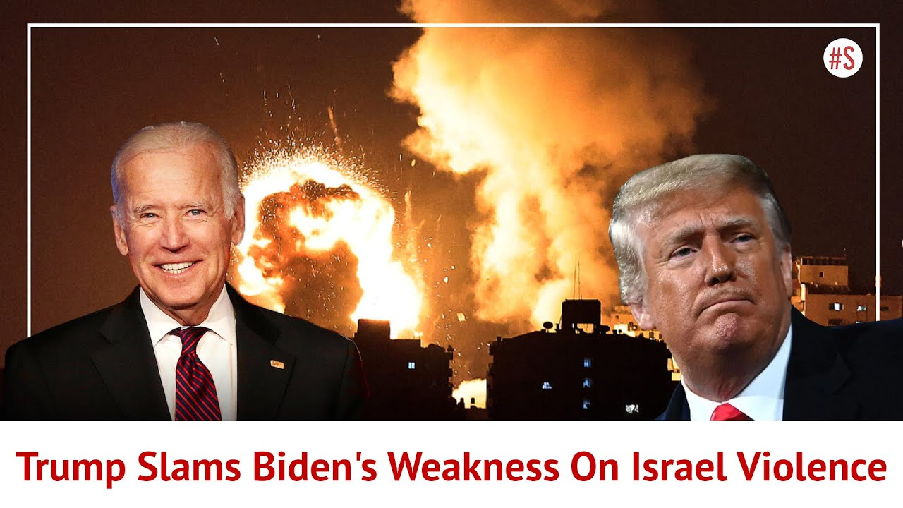 Donald Trump Takes Strong Pro-Israel Stance, Slams Joe Biden's Weakness In Maintaining World Pe