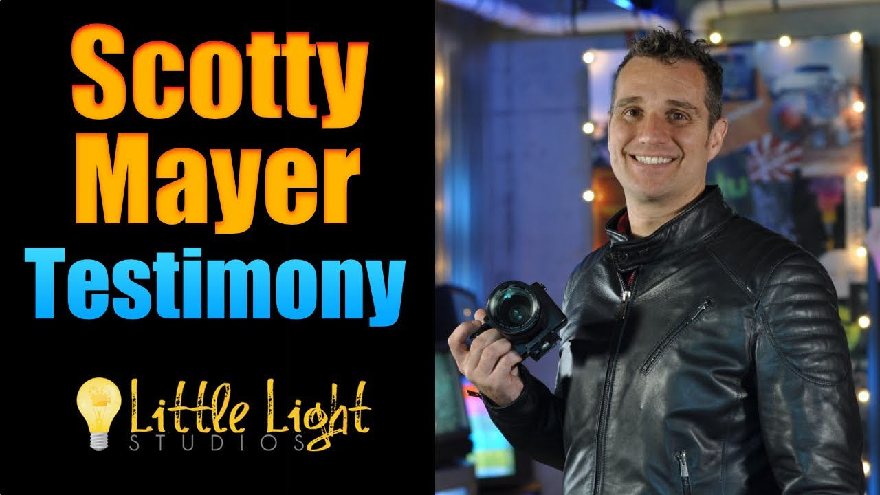 From Hollywood To Paradise | Scotty Mayer's Testimony | Little Light Studios | Just Be Blessed