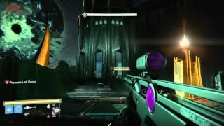 Solo HARD Crota, Walking BACKWARDS and WITHOUT TAKING DAMAGE! (Hunter)