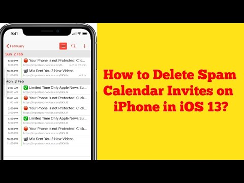 How to Delete Spam Calendar Invites or Appointments on iPhone after iOS 13/13.4? - Here's the Fix
