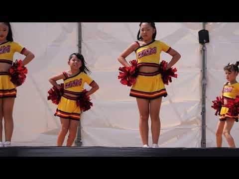 【4K】TEAM-HIMAWARI「キッズダンス②」2019年09月08日@二ツ坂カーニバル2019