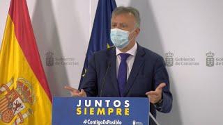 """Canarias acuerda con TUI hacer test """"voluntario y selectivo"""" para implantarlos en noviembre"""