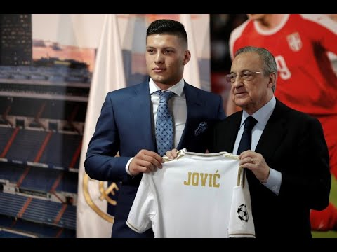 LIVE: Luka Jovic unveiled as Real Madrid's new striker