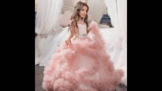 видео Платье на Новый год 2017 для девочки: фото, идеи детских платьев