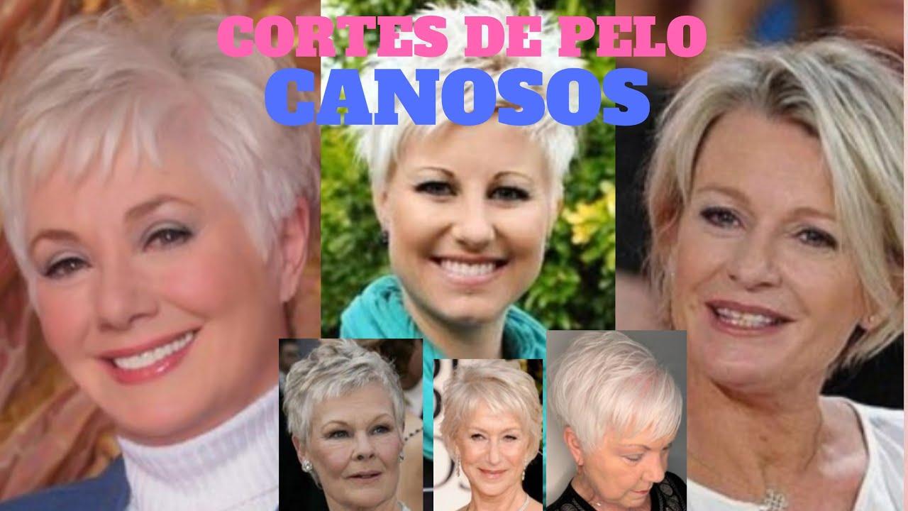 Corte De Pelo Corto 2020 Pelo Canoso Señoras 50 80 Cortes Cabello Mujer 2020 Youtube