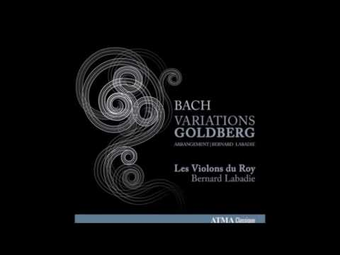 Goldberg Variations - Bernard Labadie