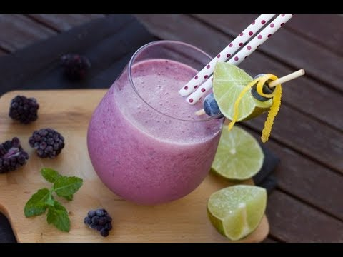 Triple Berry Kefer Smoothie